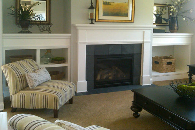 Homes By Tradition Fireplace  Traditional  Family Room  Minneapolis