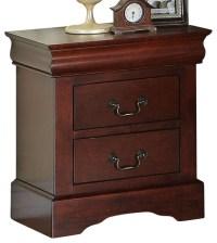 Standard Furniture Lewiston 2-Drawer Nightstand in Deep ...