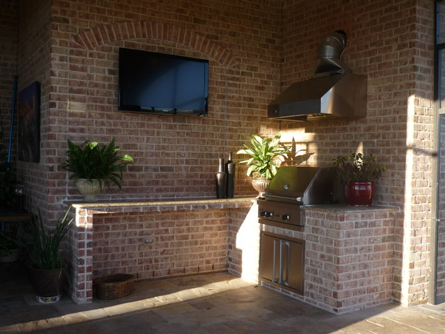 Outdoor Kitchen by Increte of Houston  Kitchen  Houston