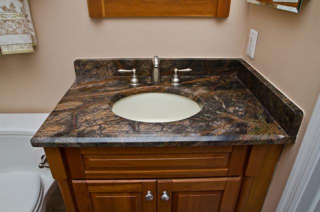 Granite Bathroom Vanities And Tub Surrounds Eclectic Bathroom Dc Metro By Granite Grannies Houzz Au