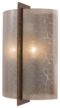Minka Lavery Clarte Wall Sconce, Iron Oxide