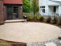 Cottage garden illinois, patio designs using pavers show ...