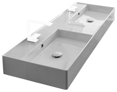 https www houzz com products 56 double wall mounted vessel sink 2 hole prvw vr 102481586