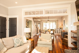 Historic Whole House Renovation - Living Room craftsman-living-room