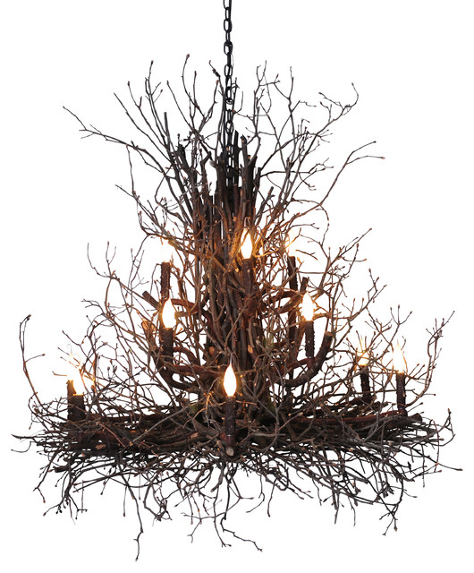 Briarwood Branch Chandelier Rustic Chandeliers