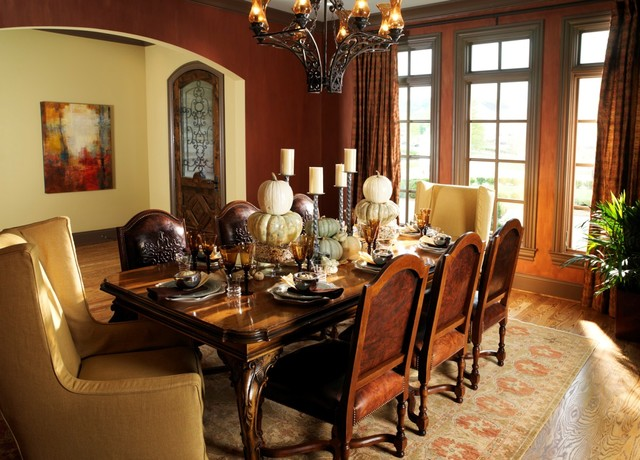 Traditional English Dining Room
