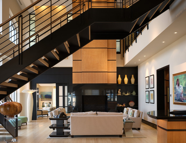 Urban Penthouse Living Room  Modern  Living Room