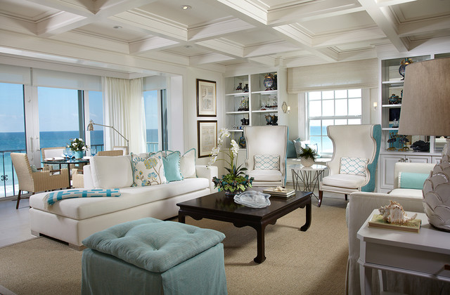 Living Rooms  Beach Style  Living Room  Atlanta  by