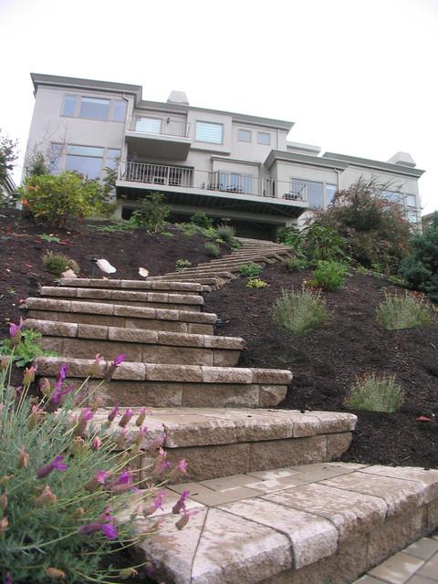 steep slope hillside landscape