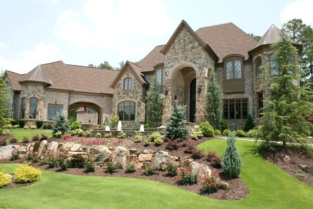 Luxury European Style Homes  Traditional  Exterior  Atlanta  by Alex Custom Homes LLC
