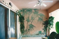 Tropical Home Hand Painted Wall Murals - Tropical - Tampa ...