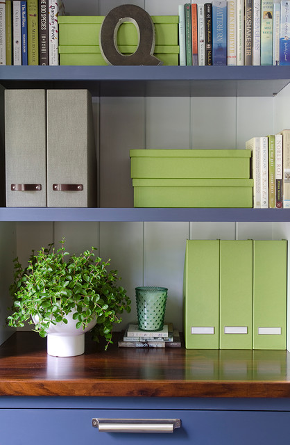 Updating a Cape contemporary-home-office