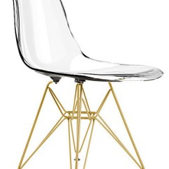 Eiffel Chair Wood Legs Baby Cover Malaysia With Gold Midcentury Dining Chairs By Homecraftdecor