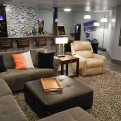 Living Room Wall Color Ideas With Brown Furniture Arrangement Christmas Tree Modern Masculine Teen Hangout