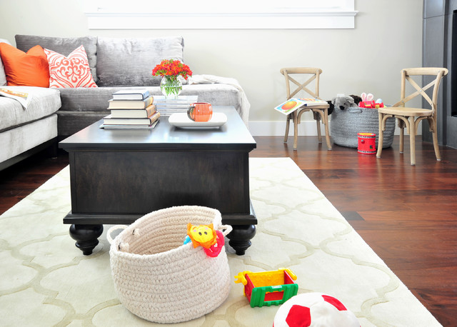Kid Friendly Family Room Houzz Part 62