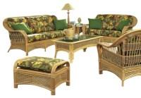 Tropical Breeze Rattan Set of 5 - Tropical - Furniture ...