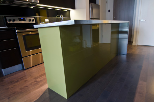 Ikea Island With Custom Theril Doors And Stainless Steel. Ikea Usa  Countertops