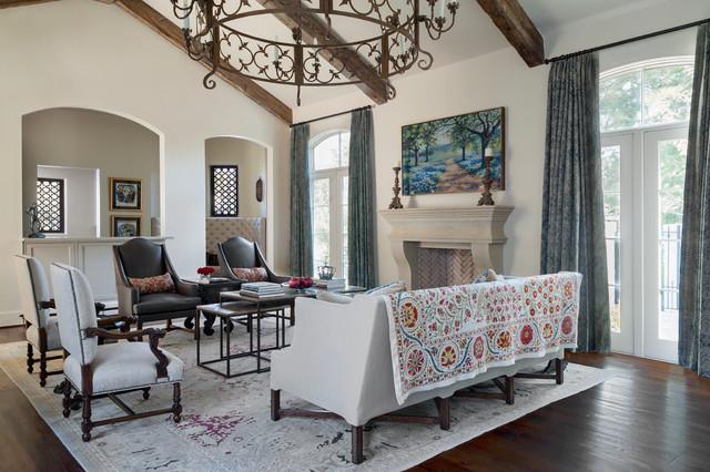 Mediterranean Living Room mediterranean-living-room