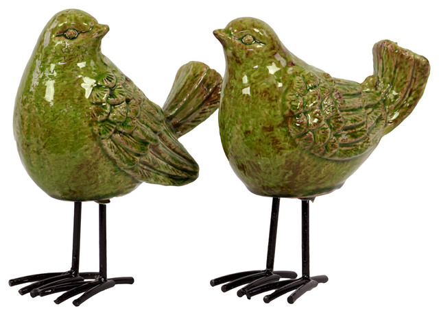 Shop Houzz  Urban Trends Collection Ceramic Bird