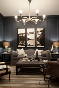 Bachelor Pad - Contemporary - Family Room - Baltimore - by ...