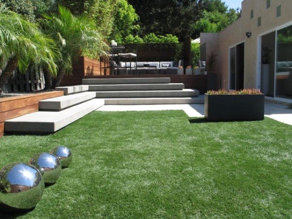 lay of landscape modern garden