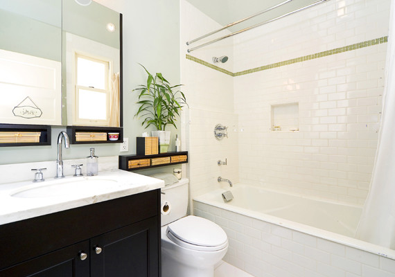 7 tile tips for baths on a budget