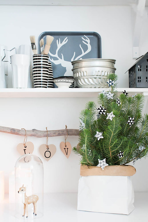 A perfectly pale interior with Nordic influences