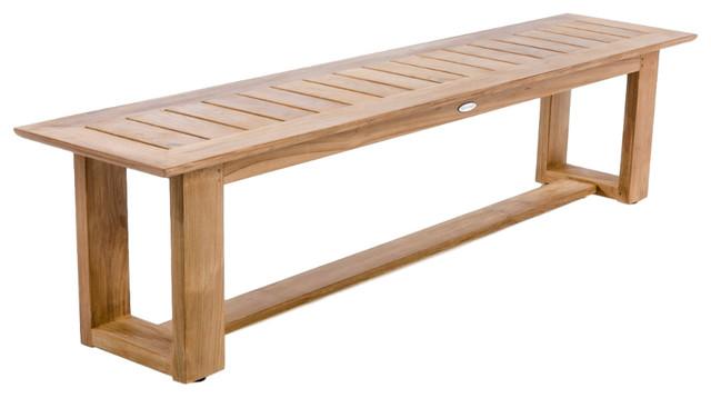 horizon 6 backless bench no cushion