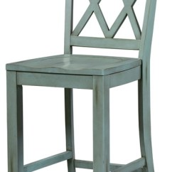 Counter Height Chairs With Back Hsl Chair Accessories Standard Furniture Vintage X Stool Set Of 2 Blue 11325 Farmhouse Bar Stools And By Emma Mason
