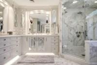 Calacatta Marble Master Bath - Transitional - Bathroom ...