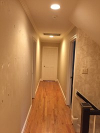 Long hallway......should I paint the ceiling and walls the ...
