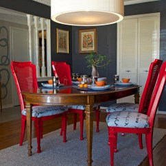 Reupholster Dining Chairs Black Resin Nz Diy Ideas: Spray Paint And Your Room - Eclectic Dallas ...