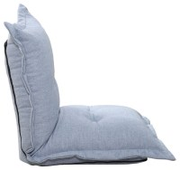 Aosom HomCom Linen Chaise Lounge Chair - Indoor Chaise ...