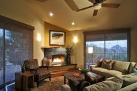 Contemporary Southwest Living Room Remodel - Fountain ...