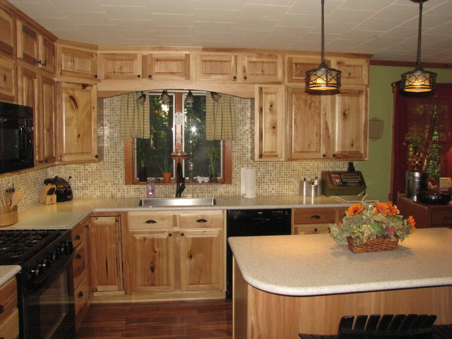 Hickory Kitchen Cabinets Lowes  Besto Blog