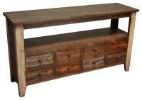 Rustic Sofa Table International Furniture Direct Pueblo ...