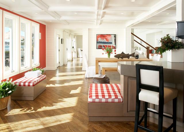 Marblehead Residence beach-style-hall