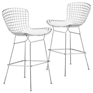 Zuo Modern Westfall 27.5 Inch Wire Counter Stool with