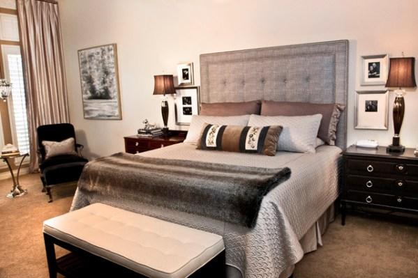 elegant master bedroom Restful and Elegant Master Bedroom - Modern - Bedroom