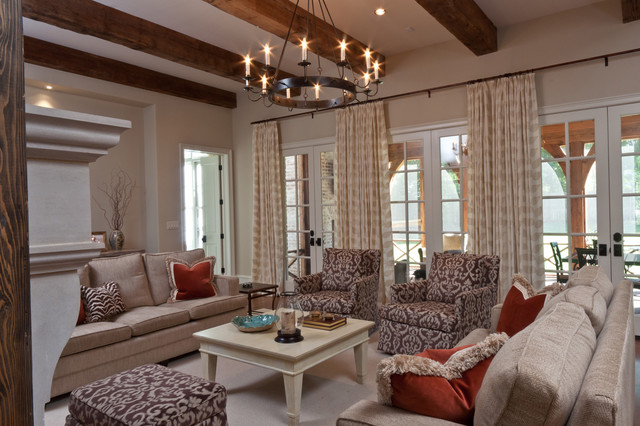 Shady Grove Family Room transitional-family-room