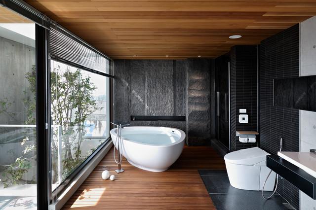 salle de bains d inspiration asiatique