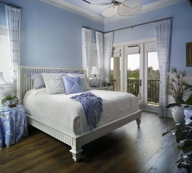 coastal elegance - beach style - bedroom - miami - by mary washer