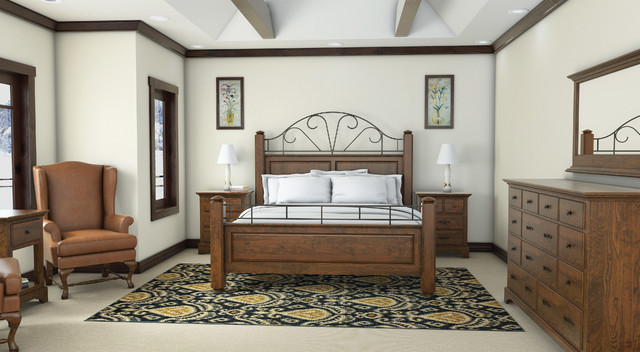 Woodley Brothers Traditional Bedroom Denver By