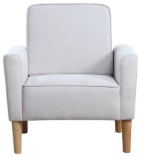 Mid Century Modern Fabric Living Room Armchair ...