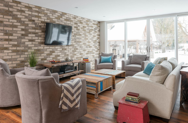 Cozy Country Reno transitional-living-room