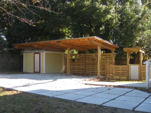 sfs carport - modern shed