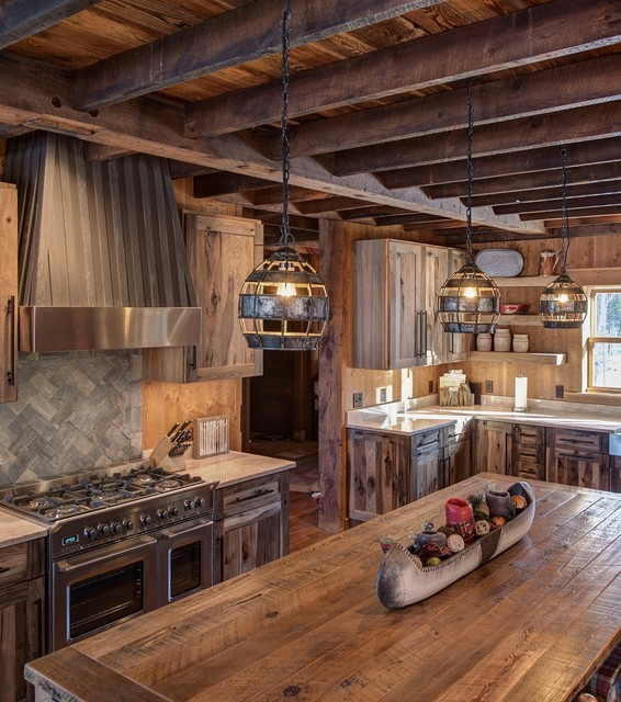 Cozy Amp Rustic Kitchen Rustic Kitchen Minneapolis