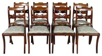 Swedish Neoclassical Side Chairs, S/8 contemporary-dining ...