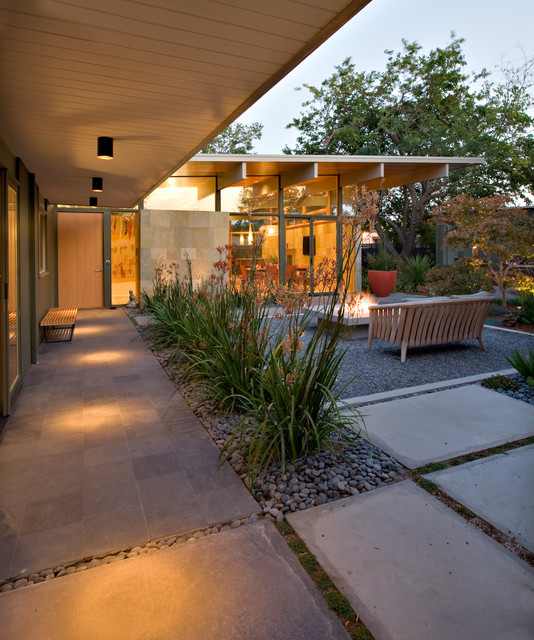 quince reverse shed eichler - midcentury