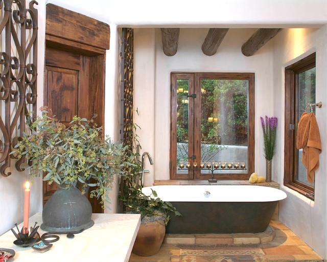 Santa Fe Master Bathroom  Traditional  Bathroom  San Diego  by HamiltonGray Design Inc
